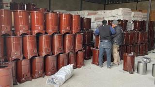 Türkiye Diyanet Vakfı'ndan çadır kentteki Suriyeli ailelere soba yardımı