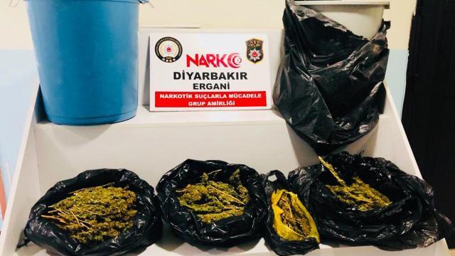 Diyarbakırda uyuşturucu operasyonu: 1 gözaltı