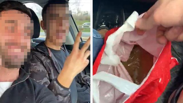 Uyuşturucu madde sevk ederken videosunu çekerek sosyal medyada paylaşan 3 şüpheli yakalandı