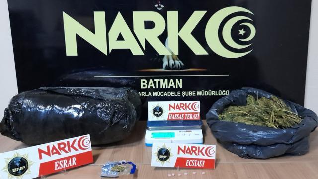 Batmanda uyuşturucu operasyonu: 2 gözaltı