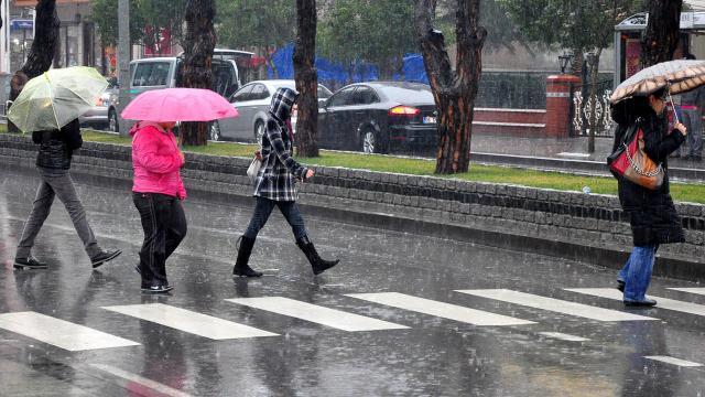 Burdur ve Isparta için kuvvetli yağış uyarısı