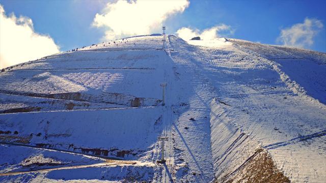 Yedikuyular Kayak Merkezi 500 bin turisti ağırlamayı hedefliyor