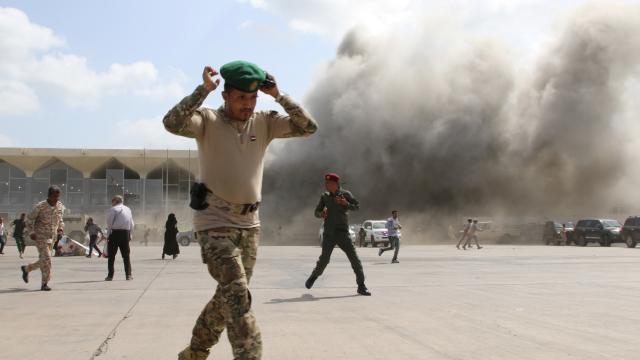 Yemende şiddetli patlamalar: 13 ölü, 65 yaralı