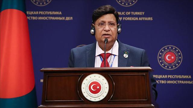 """Bangladeş Dışişleri Bakanı Momenden """"Arakanlı mülteci"""" açıklaması"""