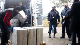 AFAD'ın gönderdiği yardımlar Hırvatistan'a ulaştı