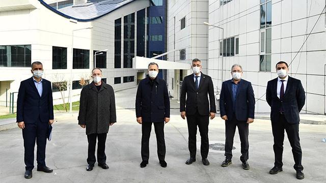 İstanbul Valisi Yerlikayadan Seyrantepe Hastanesinde inceleme
