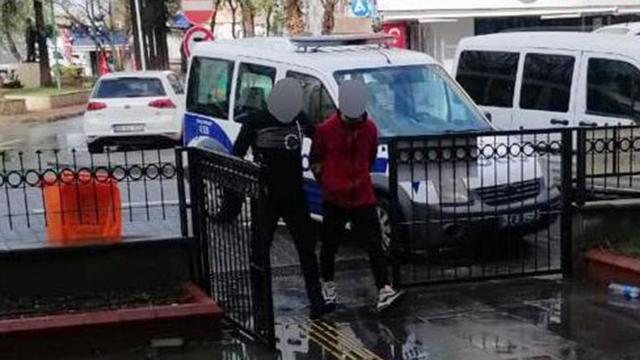 Aydında hırsızlık yapan kişi tutuklandı