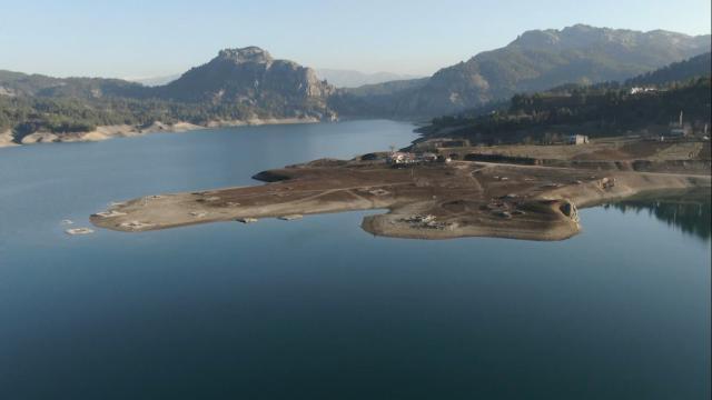 Örenlice Barajı 13 bin 470 dekar tarım arazisini sulayacak