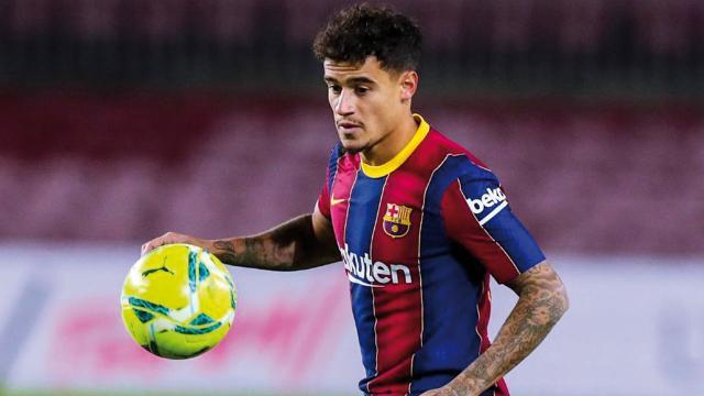 Barcelonada Coutinho 3 ay forma giyemeyecek