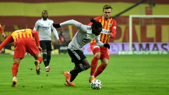 Süper Ligde zirvenin yeni sahibi Beşiktaş