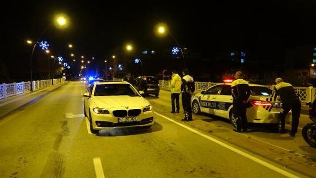 Yakıtı biten otomobili bırakıp kaçan sürücüye 10 bin lira ceza