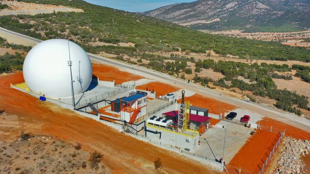 Denizli Büyükşehir Belediyesi katı atıktan elektrik üreten ikinci tesisini devreye aldı