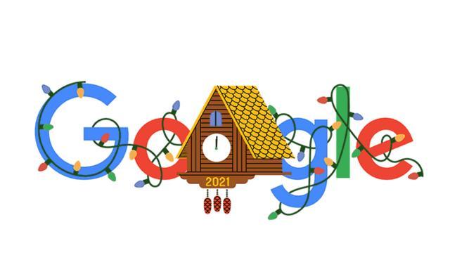 Googledan yeni yıla özel doodle