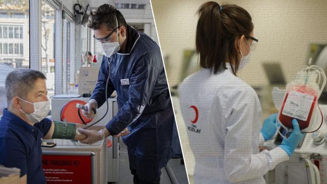 Türk Kızılaydan kan bağışı çağrısı