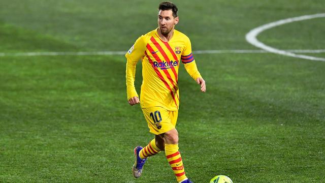 Messinin La Ligada 500. maçı