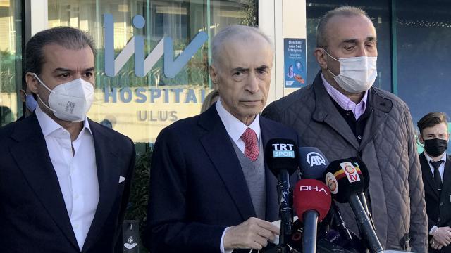 Mustafa Cengiz, Omarı ziyaret etti: İyiye doğru bir gidiş var