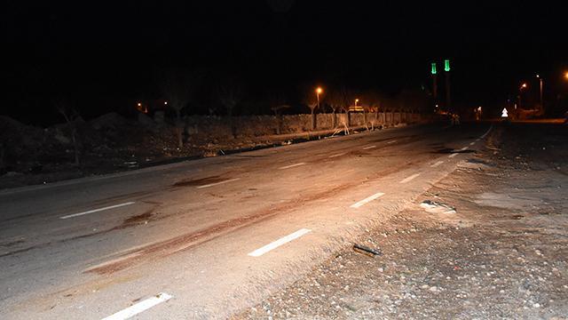 Aksarayda otomobil sürüye çarptı: 21 koyun telef oldu