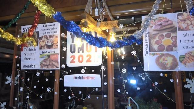 Yeni yıl kutlamasına baskın düzenlendi