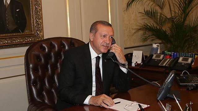 Cumhurbaşkanı Erdoğan, Merkel ve Draghi ile görüştü