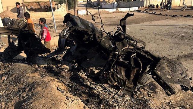 Suriyenin kuzeyinde teröristler sivilleri hedef aldı