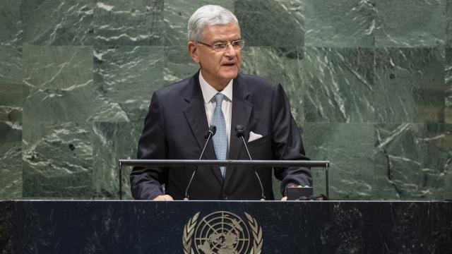 Bidendan BM Genel Kurulu Başkanı Bozkıra mektup