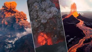 Dünyada her yıl ortalama 50 volkan faaliyete geçiyor