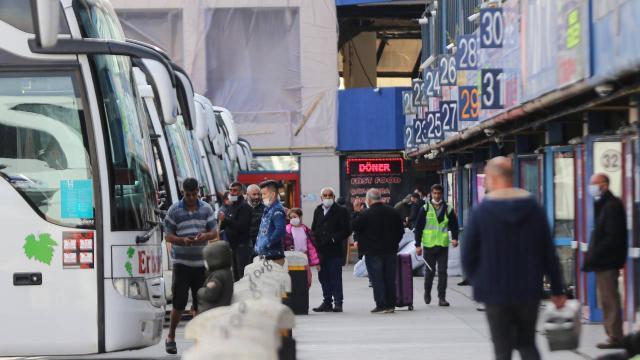 Şehirler arası otobüs yolcusu 2020de yüzde 60 azaldı