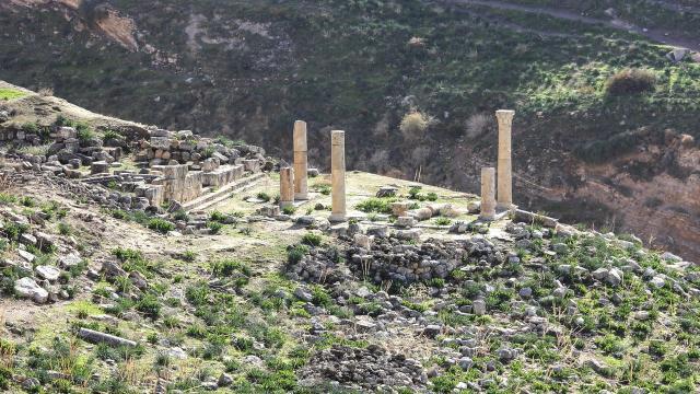 Ürdündeki Tabakat Fahil antik kenti binlerce yıldır tarihe tanıklık ediyor
