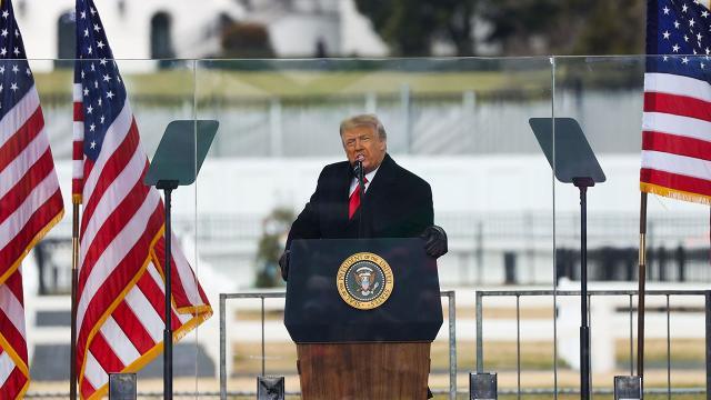 Trumptan destekçilerine eve dönün çağrısı