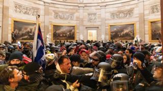 ABD'de Kongre baskını soruşturması: En az 100 kişi daha gözaltına alınabilir