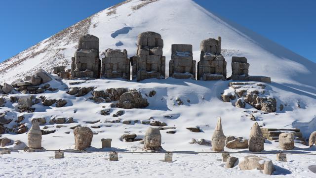 """""""Dünya mirası"""" Nemrut, 5 yılda 530 bin ziyaretçi ağırladı"""