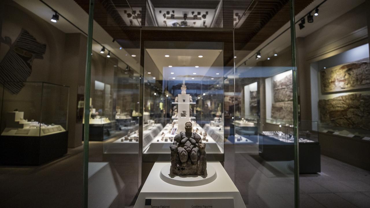 Ankara'nın medeniyetlere açılan kapısı : Anadolu Medeniyetler Müzesi - Son  Dakika Haberleri