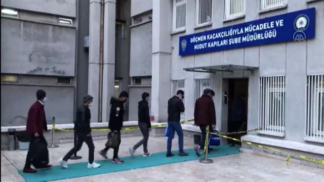 Ankarada 44 düzensiz göçmen yakalandı