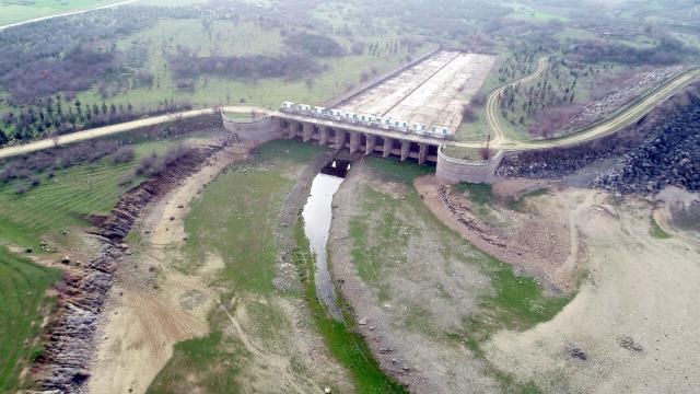 Trakyadaki barajlarda doluluk oranı yüzde 33e düştü