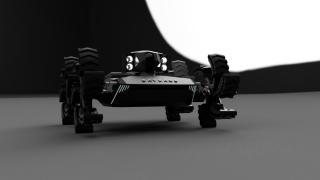 İnsansız kara aracı Baybars, suda da engel tanımıyor