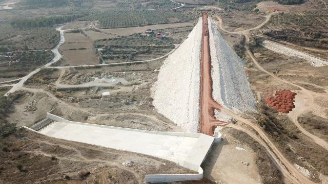 Bilecikteki Bayırköy Barajı çalışmalarında sona yaklaşıldı