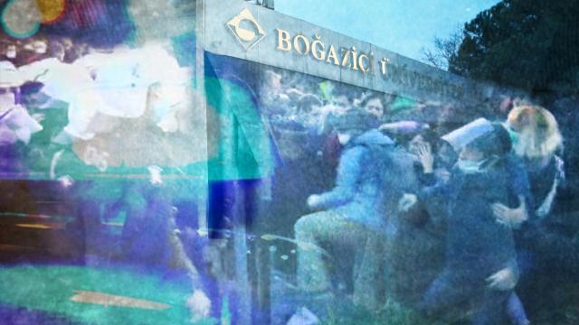 Boğaziçi Üniversitesinde protesto: Gözaltı sayısı 22ye yükseldi