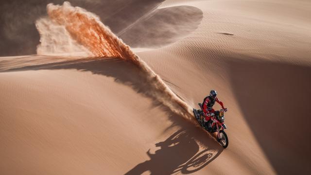Dakar Rallisinde dördüncü etap heyecanı
