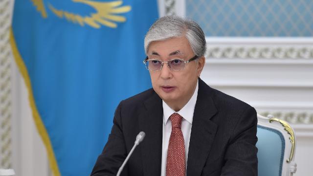 Kazakistan Cumhurbaşkanı Tokayevden Türkiye ile dayanışma mesajı