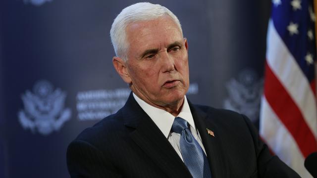 Mike Pence Kongrenin basılmasını kınadı