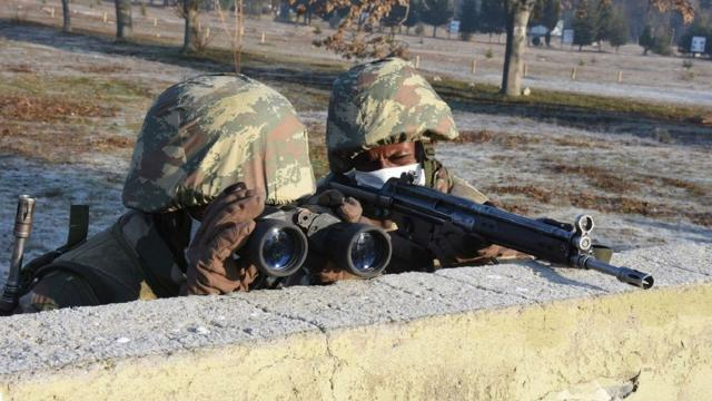 Türkiyeden Somalili askerlere komando eğitimi