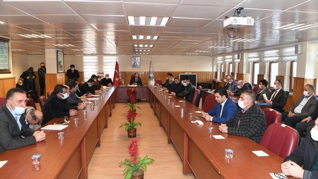 Muş Belediyesi ocak ayı meclis toplantısı yapıldı