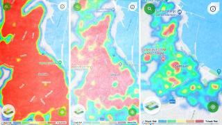 Samsun'da koronavirüs haritası kıpkırmızıdan yemyeşile döndü