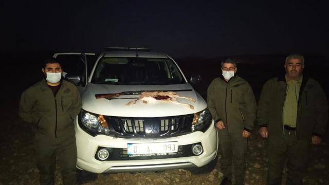 Şanlıurfada kaçak avlanan 2 kişi hakkında idari işlem yapıldı