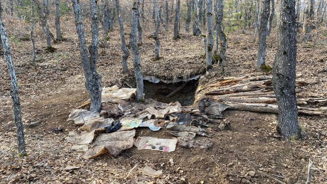 Sivasta teröristlerin kullandığı sığınak imha edildi