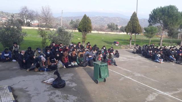 İtalyaya gidecekleri vaadiyle yola çıkarılan sığınmacılar Aydına bırakıldı