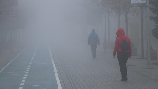 Boluda sis nedeniyle görüş mesafesi 30 metreye kadar düştü
