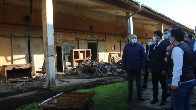 Nazillideki Sümerbank Basma Fabrikasında yeniden üretim için çalışma başlatıldı