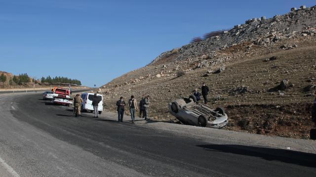 Kurtalanda trafik kazası: 2 yaralı