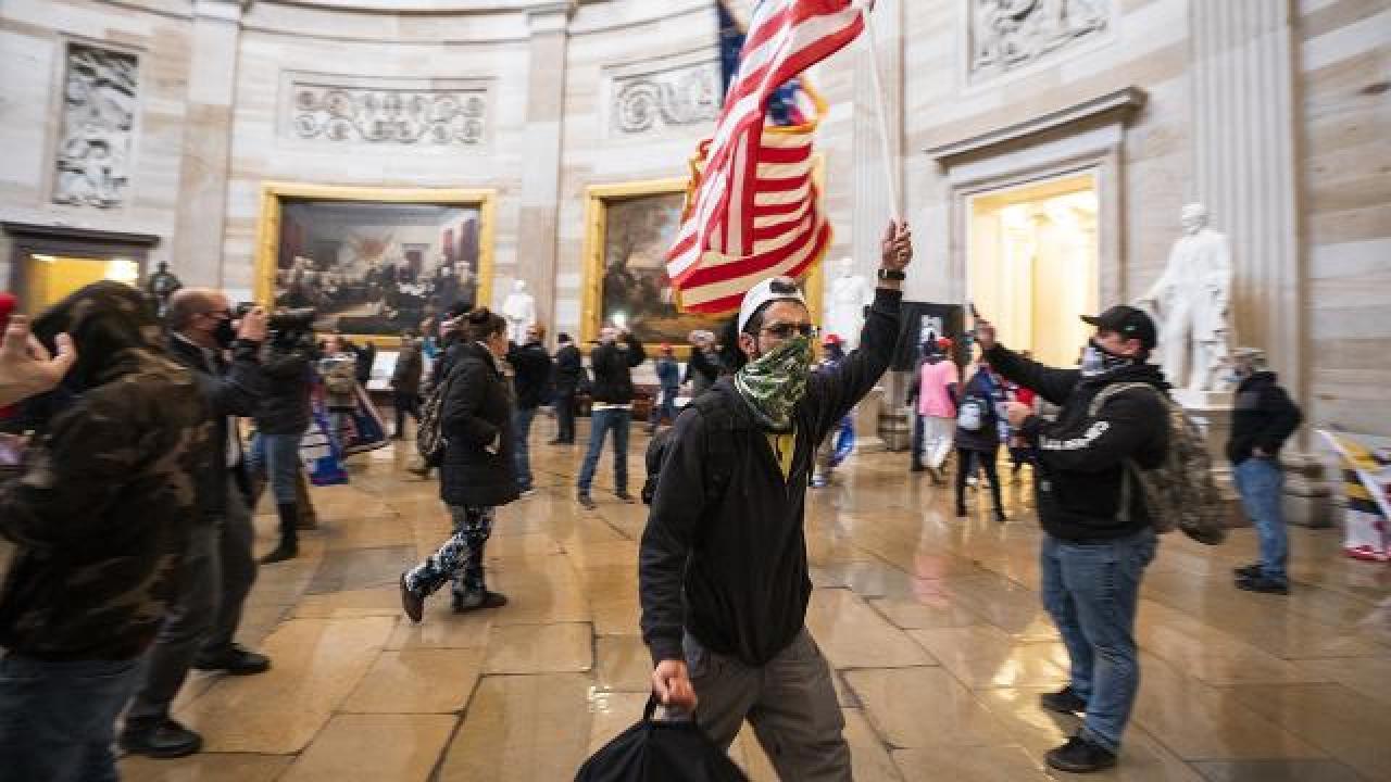 ABD'deki Kongre baskınından yeni görüntüler ortaya çıktı